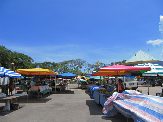 Obst- und Gemüsemarkt.