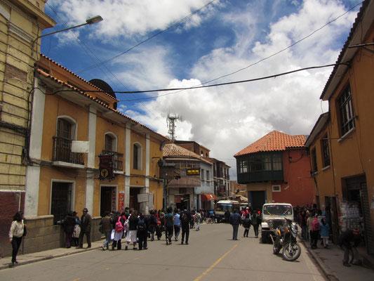 Straße vor dem Mercado Central.