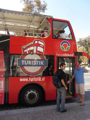 Dieser Bus scheint wie für Touristen gemacht.