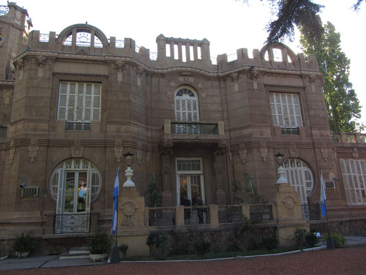 Weinmuseum in Maipu (Museo Nacional  del Vino).