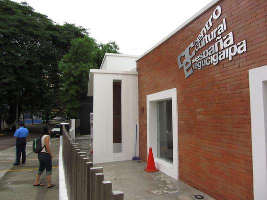 Das Spanische Kulturzentrum Tegucigalpa.