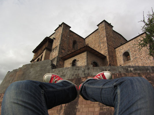 Nach einem schweren Erdbeben 1650 wurden seine Ruinen weitgehend durch den Bau des Convento de Santo Domingo überbaut.