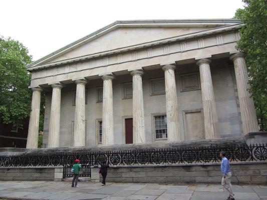 Die erste Bank der Vereinigten Staaten!