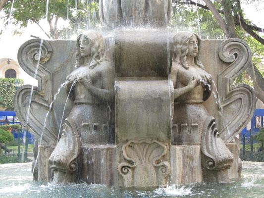 Der erotische Brunnen im Zentralpark.