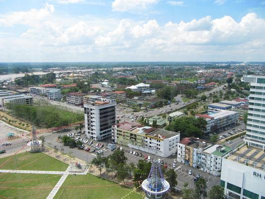 Blick vom Sanyan-Gebäude.