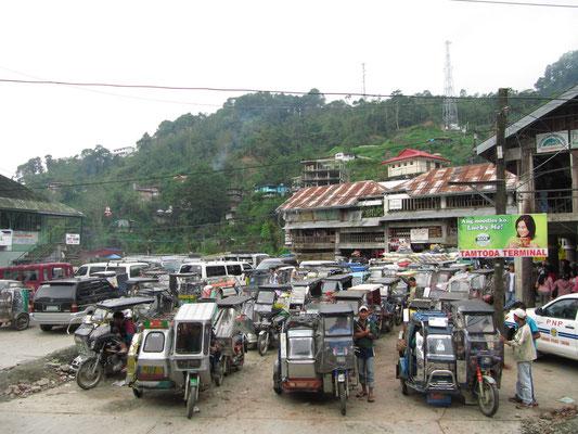 Selbst Banaue hat ein Verkehrsproblem.