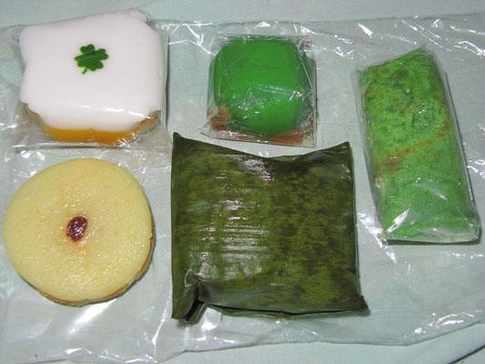 Süßigkeiten. Die Indonesier haben ein fabelhaftes Talent bei der Herstellung von wirkliche süßen Dingen.