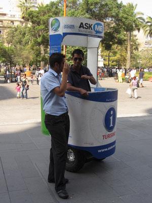 Mobile Touristeninformation.