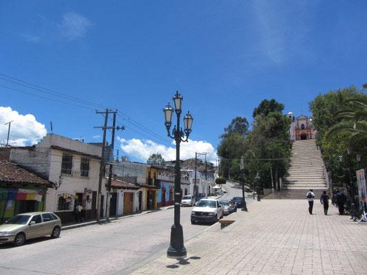 Auf dem Weg zum Cerro de Guadalupe.