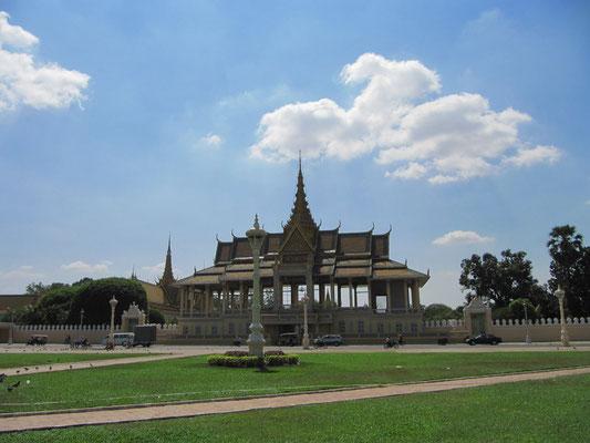 Die Anlage des königlichen Palasts.
