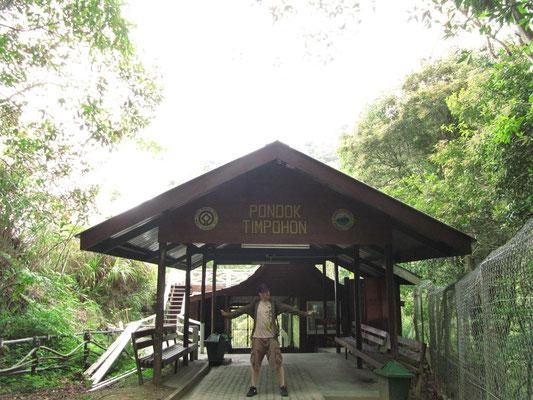Eingang zum Mt. Kinabalu Trek.