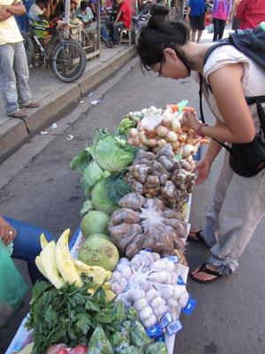 Straßenkauf.