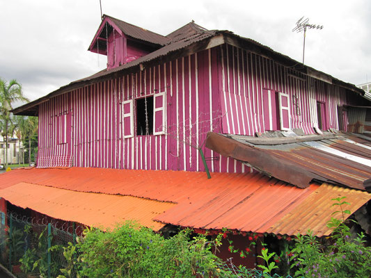 Malayisches Hausdesign.