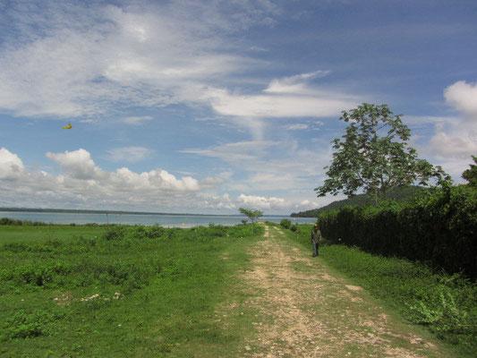 Auf dem Weg zum Petén-Itzá-See.