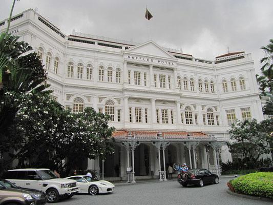Das Raffles Hotel.