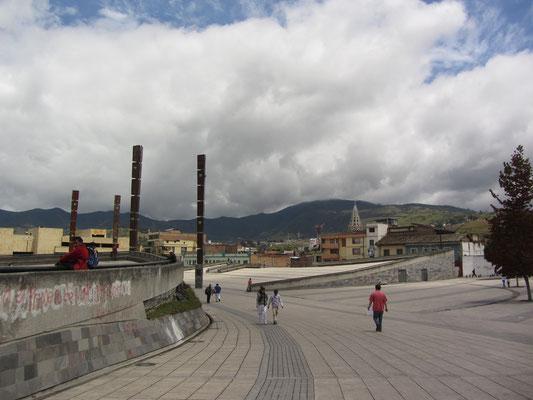 Der Plaza de Carneval ist riesig und liegt sehr zentral in der Stadt.