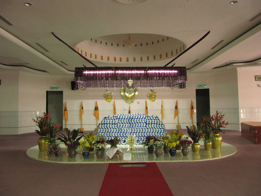 Im Sikh-Tempel.