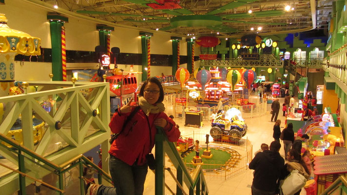 Im Shopping Mall.