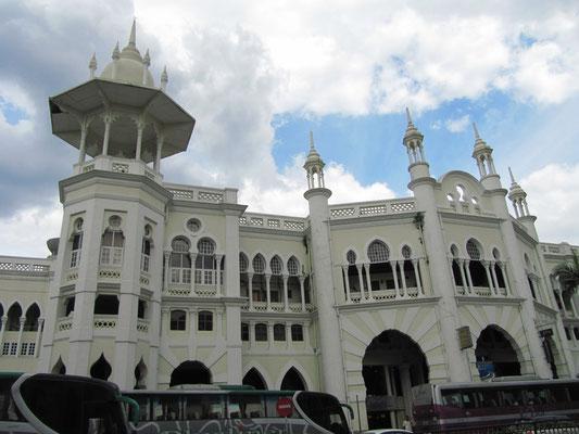 Malayan Railway Station.