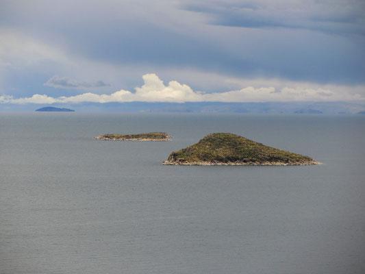 Benachbarte Inseln.