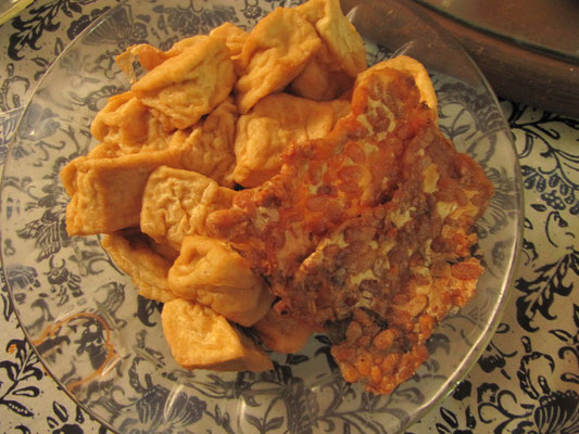 Tofu und Tempe.