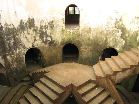 In der Anlage des Taman Sari.