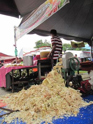 Malayischer Markt während des Ramadans.