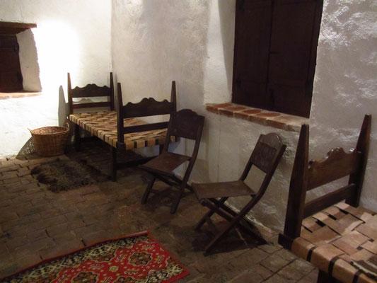 So wurde in der Kolonialzeit gehaust. (Museo Portugues)