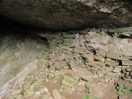 Die Lumiang-Grabhöhle.