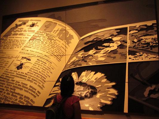 Wir waren sehr beeinduckt von der temporären Ausstellung im Museo de Artes Visuales.