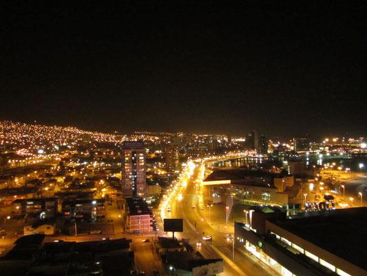 Blick von unserem Balkon. Wir wohnten in einer Top-Wohnung in einer Top-Lage.