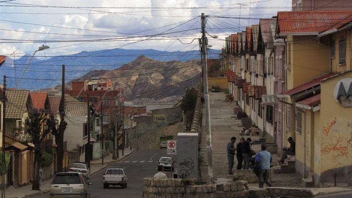 Eine echte Bergstadt.