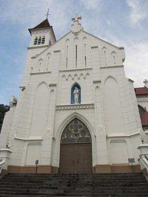 Ein Gotteshaus für Christen in Indonesien.