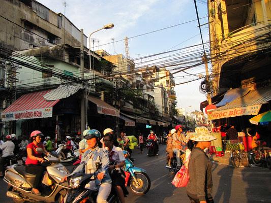 Verkehr in Chinatown.