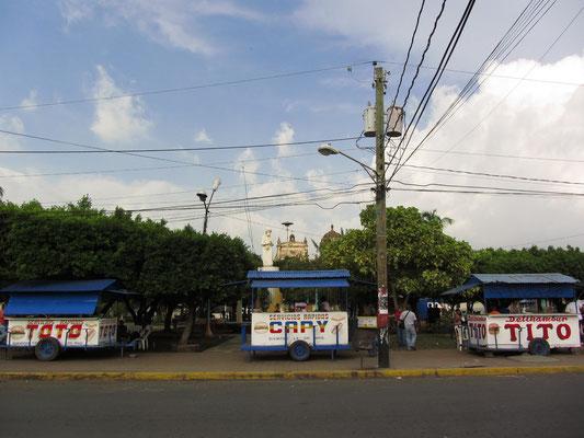 Fastfood in Nicaragua heißt Burger und Hotdogs und die sind so beliebt, dass sie überall verkauft werden.
