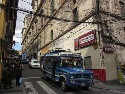 In den Straßen von La Paz.
