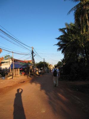 Der tägliche Weg ins Stadtzentrum.