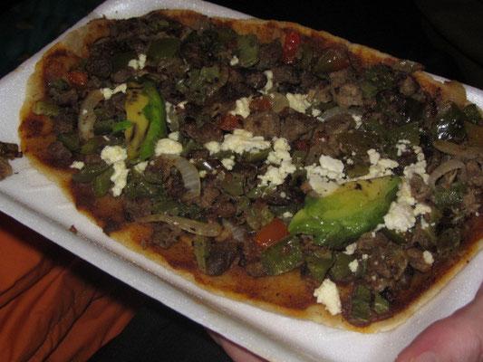 Mexikanische Pizza.