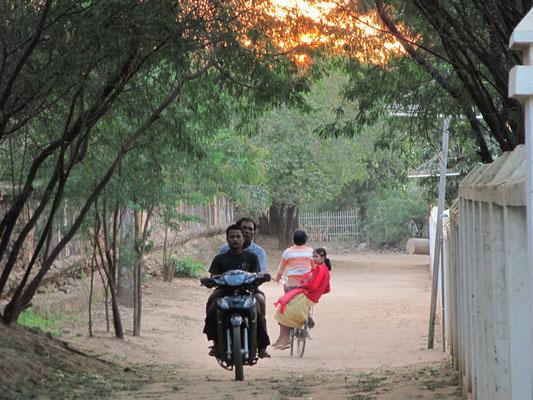 Unsere Nachbarschaft in Nyaung-U.