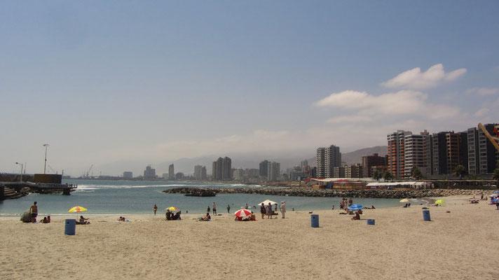 Ein weiterer künstlicher Strand.