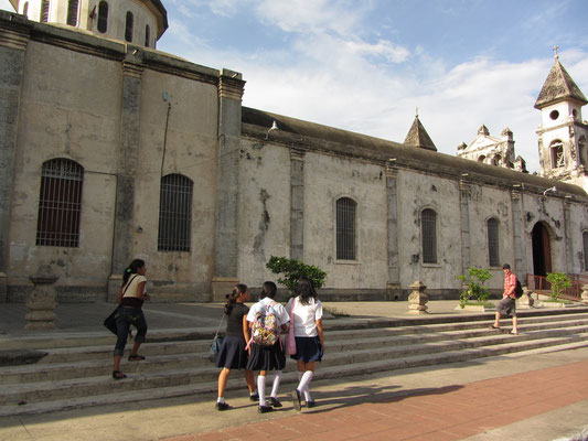 Die Guadalupe Kirche.