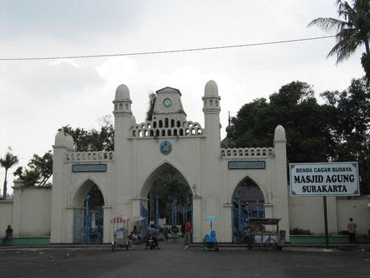 Moschee Agung.