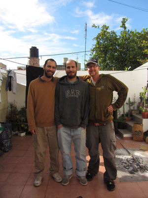 Brothers, Augustin, Pablito und Sebastian.