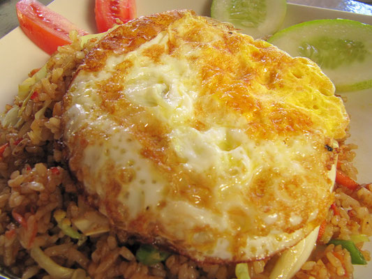 Nasi Goreng Telur.