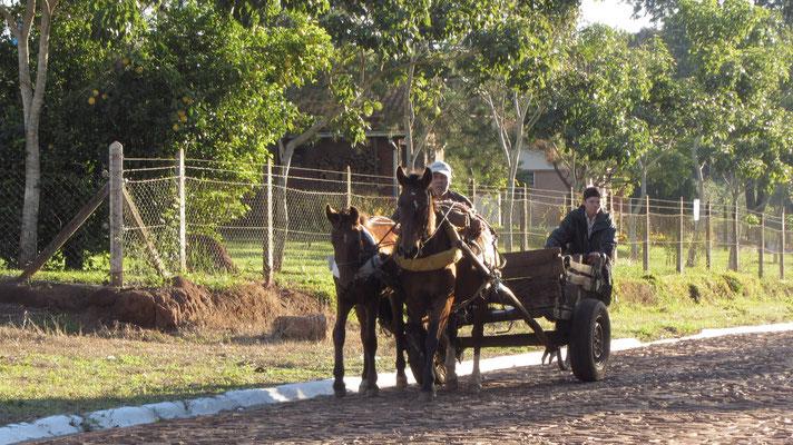 Paraguay ist sehr ländlich.