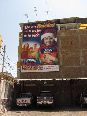 Zu schönen Weihnachten gehört in Peru immer ein Kuchen.