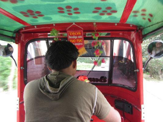 Fahrt im Tuktuk.