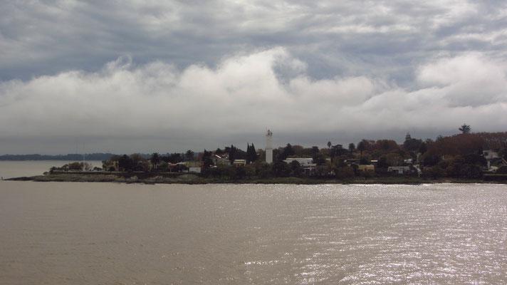 Blick auf Colonia del Sacramento mit seinem bekannten Leuchtturm.