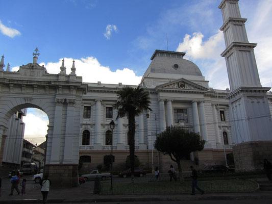 Der Höchste Gerichtshof des Landes.