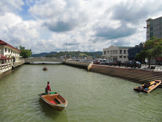 Der Kianggeh Fluss.